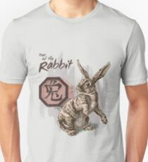 Year of the Rabbit by Stephanie Smith Unisex T-Shirt