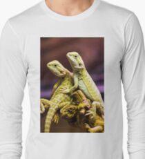Lizards in Love Long Sleeve T-Shirt