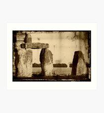 Stonehenge, Amesbury UK  ©  Art Print