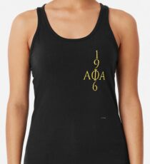 for ALPHAS only ((alternate)) Racerback Tank Top