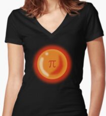 Irrational Ball Women's Fitted V-Neck T-Shirt
