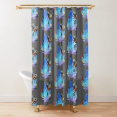 Monster Hunter World Dodogama with Crystal Shower Curtain