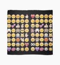black emoji Scarf
