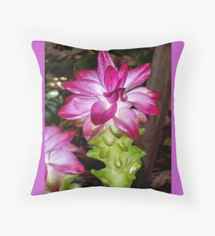 Florida Flowers  Throw Pillow