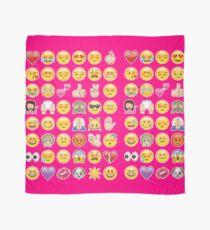 rosa Emoji Tuch