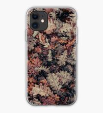 Dried Autumn Leaves - HD Nature iPhone Case