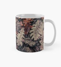 Dried Autumn Leaves - HD Nature Classic Mug