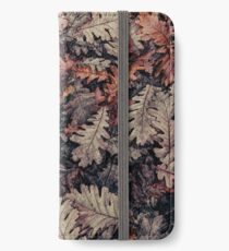 Dried Autumn Leaves - HD Nature iPhone Wallet/Case/Skin