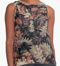 Dried Autumn Leaves - HD Nature Sleeveless Top