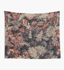 Dried Autumn Leaves - HD Nature Wall Tapestry