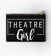 Theatre Girl For Broadway Musical Thespian Fan Zipper Pouch