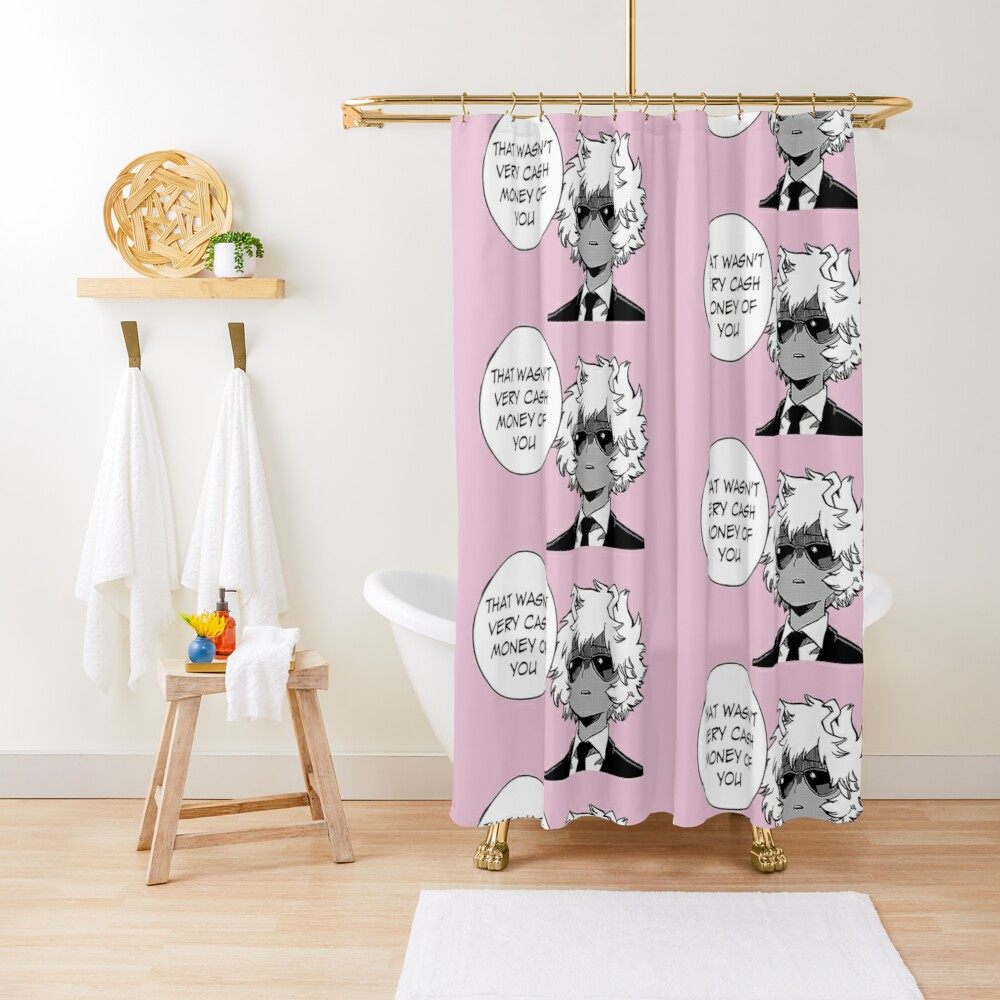 That Wasn't Very Cash Money Of You Shower Curtain