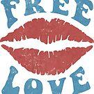 Free Love - Kiss by mavisshelton