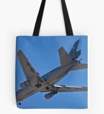 Flying gas station Tote Bag