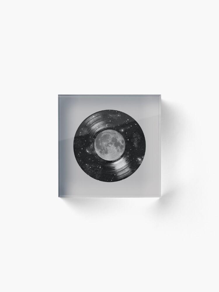 Alternate view of Galaxy Tunes Acrylic Block