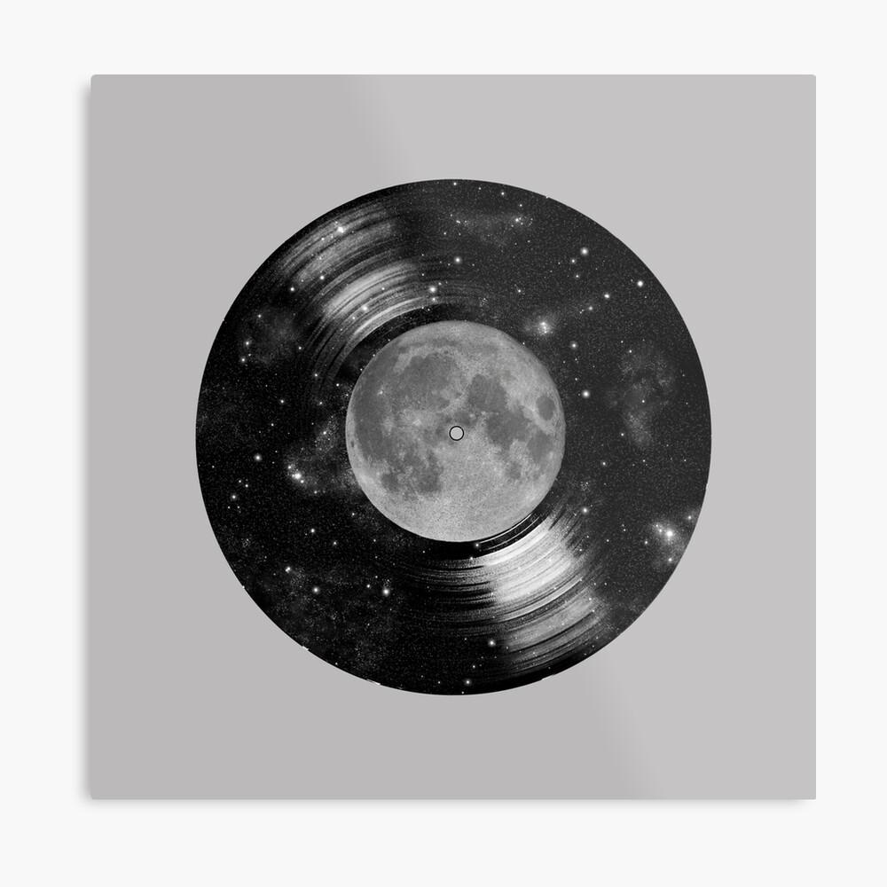 Galaxy Tunes Metal Print