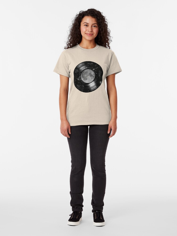 Alternate view of Galaxy Tunes Classic T-Shirt