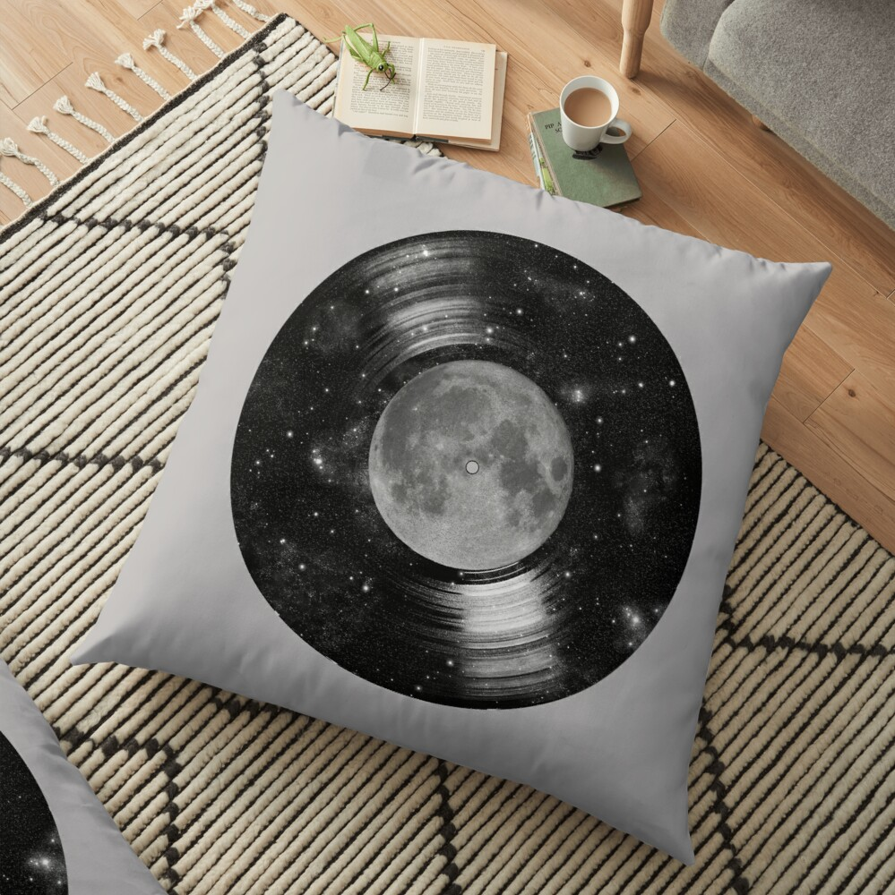 Galaxy Tunes Floor Pillow