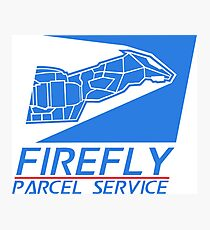 Firefly Parcel Service Photographic Print
