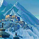 Тибет. #Tibet. #Himalayas., 1933 - Nicholas #Roerich #NicholasRoerich by znamenski