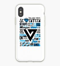 SEVENTEEN Collage iPhone Case