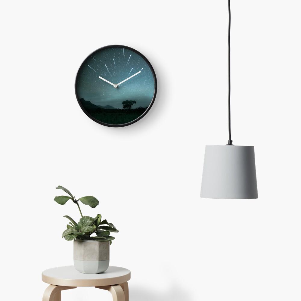 Geminid Meteor Shower - Grampians Clock