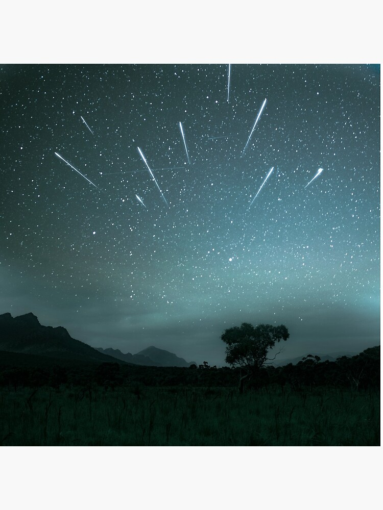 Geminid Meteor Shower - Grampians by amorphousbeing