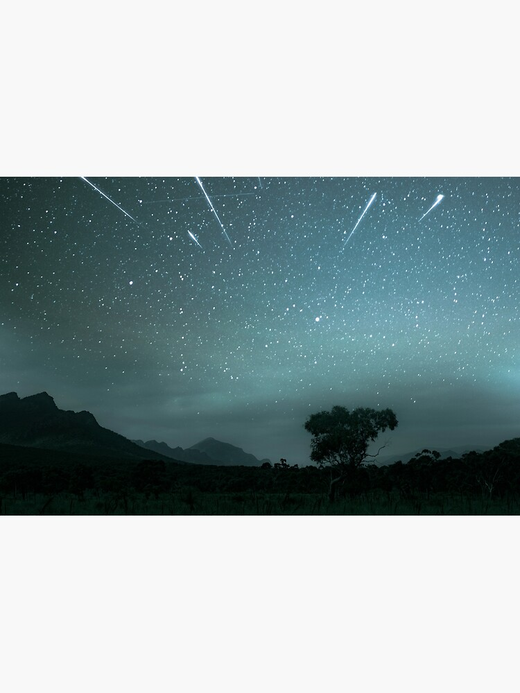 Geminid Meteor Shower - Grampians by amorphousbeing