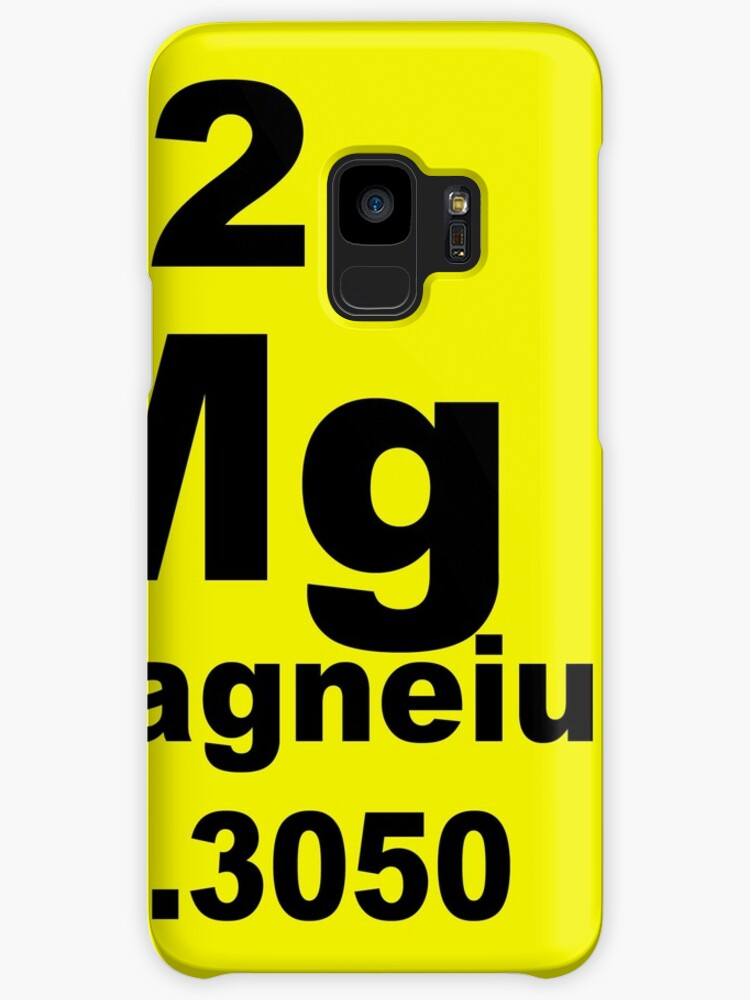 Magnesium Periodic Table Of Elements Cases Skins For Samsung