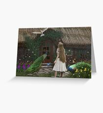 The Enchanted Cottage... Greeting Card