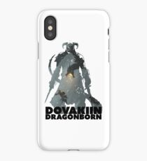 Dovakiin/Dragonborn Art Decal iPhone Case