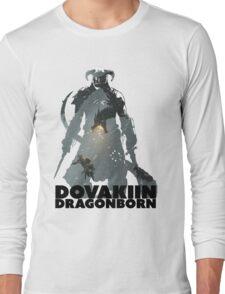 Dovakiin/Dragonborn Art Decal Long Sleeve T-Shirt