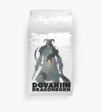 Dovakiin/Dragonborn Art Decal Duvet Cover