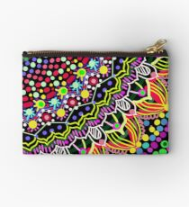Wedding Festivities Mandala Zentangle Zipper Pouch