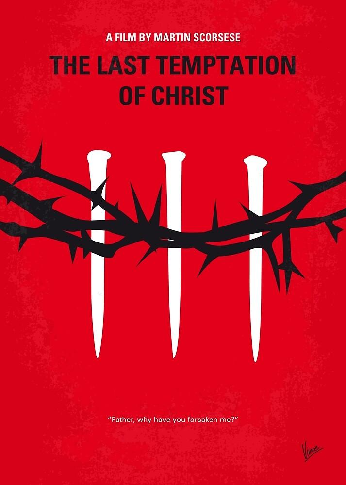 """No1062 Mein minimales Filmplakat """"Die letzte Versuchung Christi"""" von ChungKong Art"""