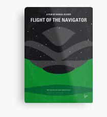 No1067 Mein Flug des Navigators minimales Filmplakat Metallbild