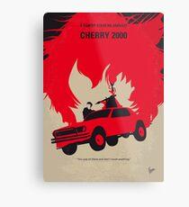 No1070 My Cherry 2000 minimales Filmplakat Metallbild