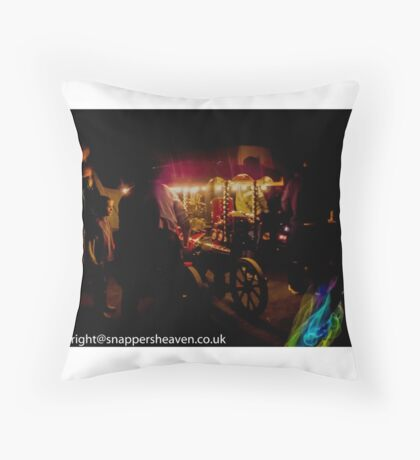 Nightlights  Throw Pillow