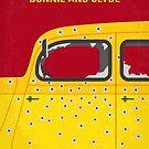 No1072 Mein minimales Filmplakat von Bonnie und Clyde von ChungKong Art