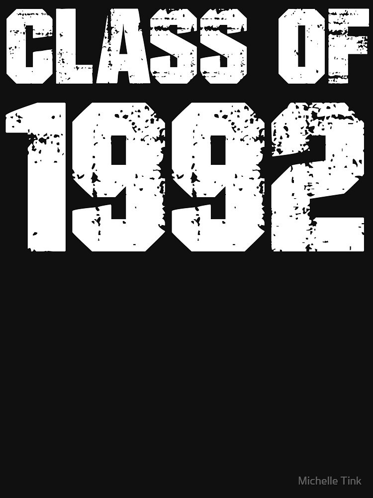 Klasse von 1992 - Abschluss - Wiedervereinigung - Schulwiedervereinigung von ingeniusproduct