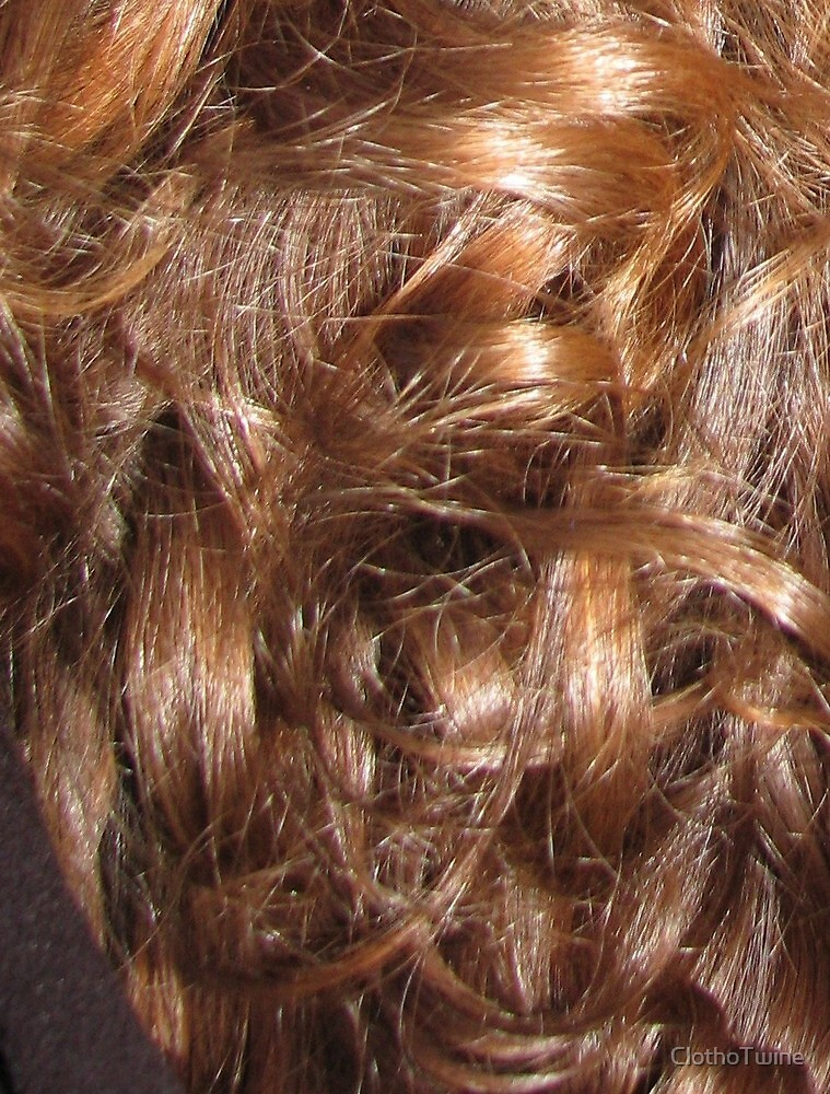 Hairscape - Shiny Auburn Hair by ClothoTwine
