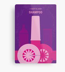 No1074 Mein Shampoo minimales Filmplakat Metallbild