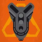 No1075 Mein Doom Minimal Movie Poster von ChungKong Art