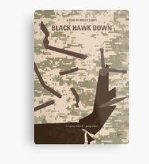 No1076 Mein Black Hawk Down Minimal Movie Poster Metallbild