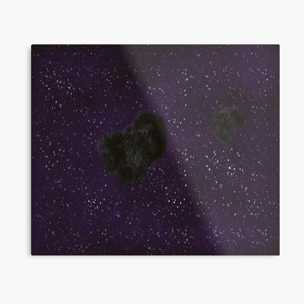 Asteroid  Metal Print
