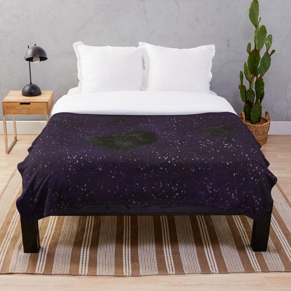 Asteroid  Throw Blanket