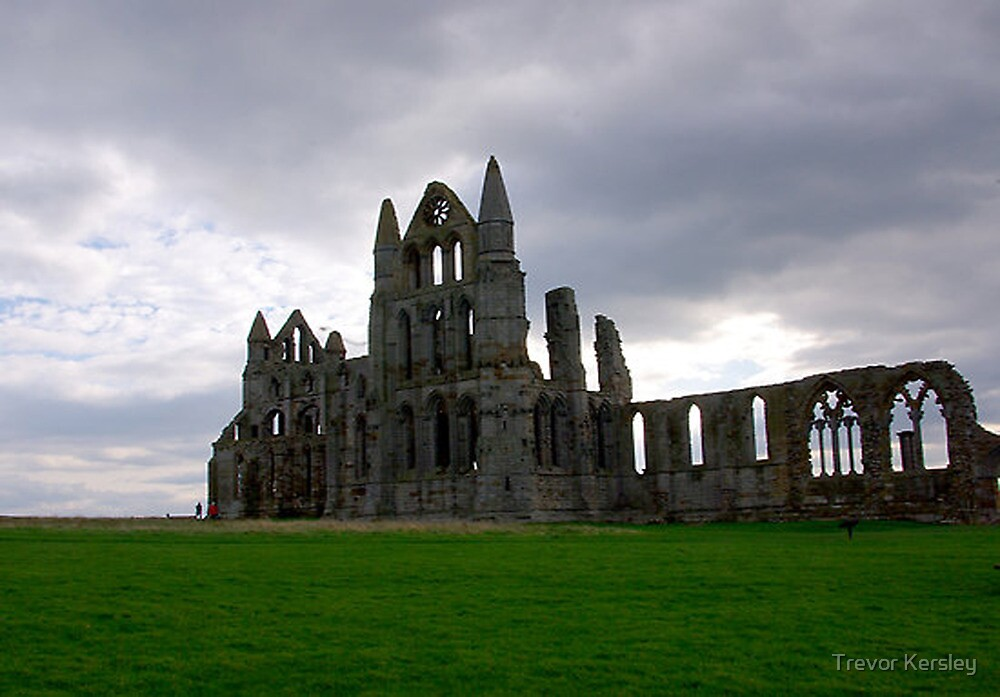 Whitby Abbey #4 by Trevor Kersley