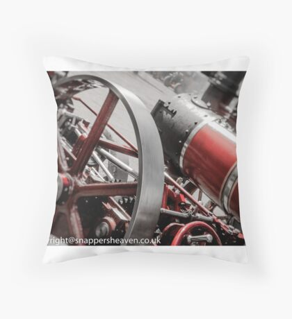 steamangles  Throw Pillow