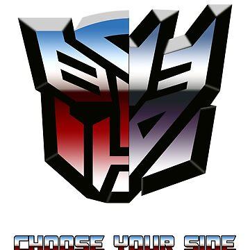 Transformers- Autobot/Decepticon by SirGuyIncognito