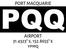 Port Macquarie Airport PQQ by AvGeekCentral